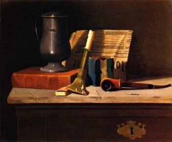 A Full Shelf | John Frederick Peto | oil painting