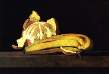 Banana and Orange | John Frederick Peto | oil painting