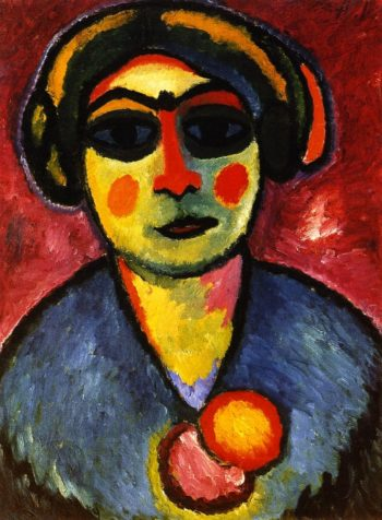 Dark Eyes | Alexei Jawlensky | oil painting
