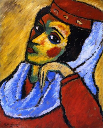 Macedonian Woman | Alexei Jawlensky | oil painting