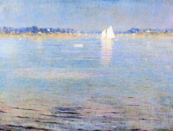 Afternoon on the Bay | William Worchester Churchill | oil painting