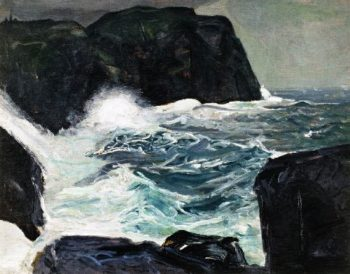 Blackhead and Sea | George Wesley Bellows | oil painting