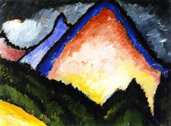 Mountain | Alexei Jawlensky | oil painting