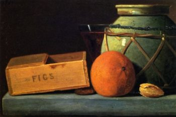 Ginger Jar and Orange | John Frederick Peto | oil painting