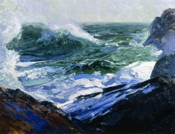 Forth and Back | George Wesley Bellows | oil painting