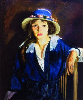 Madeline Davis | George Wesley Bellows | oil painting