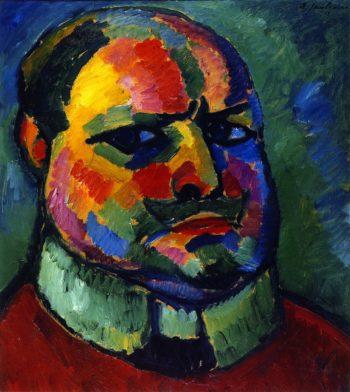 Self Portrait   Alexei Jawlensky   oil painting