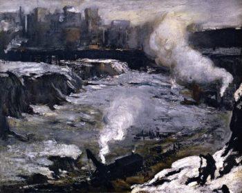 Pennsylvania Excavation | George Wesley Bellows | oil painting