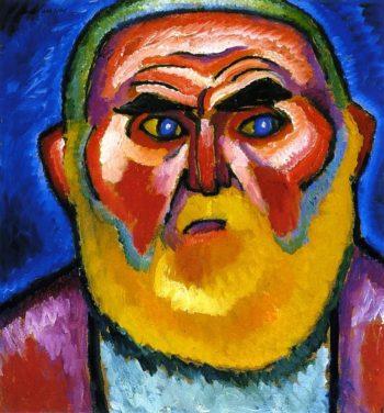 The Old Man   Alexei Jawlensky   oil painting