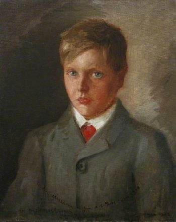AJ MacLaren | Henry Scott Tuke | oil painting