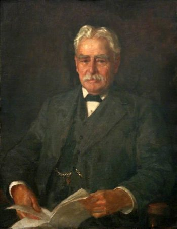 Alderman F J Bowles | Henry Scott Tuke | oil painting