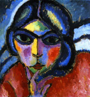 Meditative Woman | Alexei Jawlensky | oil painting
