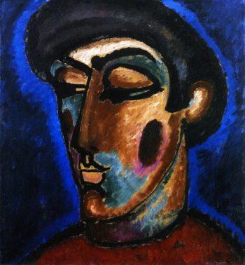 Renaissance Head | Alexei Jawlensky | oil painting