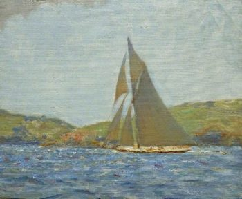 Britannia | Henry Scott Tuke | oil painting