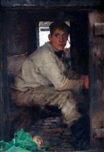 Cabin Boy | Henry Scott Tuke | oil painting