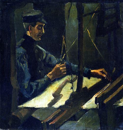 The Weaver   Henri de Toulouse Lautrec   oil painting