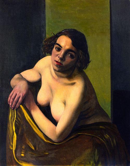 Torso of a Young Woman | Felix Vallotton | oil painting