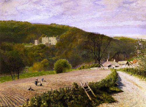 Barden Tower Yorkshire | John Atkinson Grimshaw | oil painting