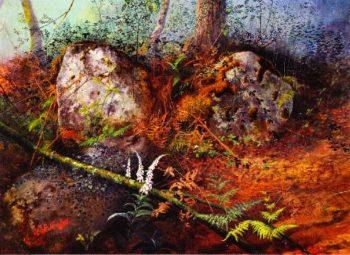Newlay Wood Horsforth Leeds | John Atkinson Grimshaw | oil painting