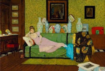 Paintings In the Artists House | John Atkinson Grimshaw | oil painting