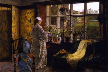 Spring   John Atkinson Grimshaw   oil painting