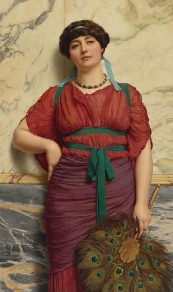 Eurypyle   John William Godward   oil painting