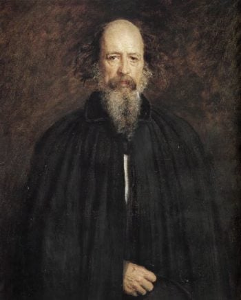 Alfred Tennyson | Sir John Everett Millais | oil painting