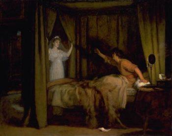 Apparition | Sir John Everett Millais | oil painting