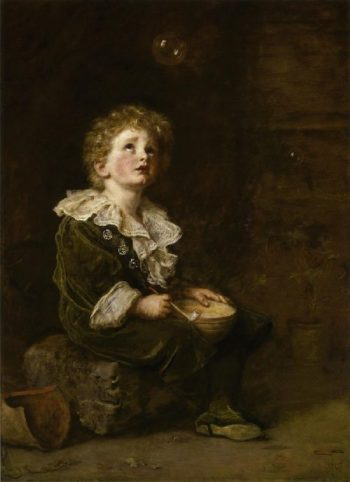 Bubbles | Sir John Everett Millais | oil painting