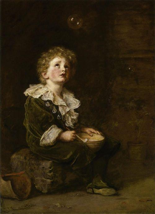 Bubbles   Sir John Everett Millais   oil painting