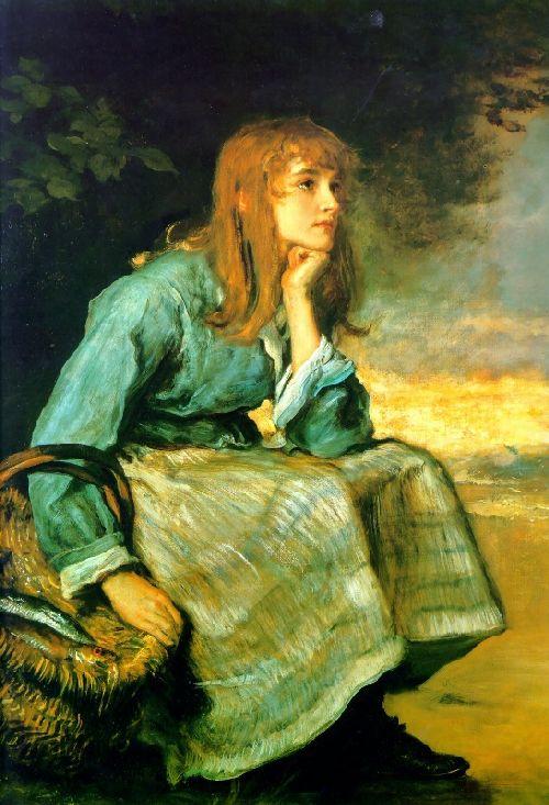 Caller Herrin   Sir John Everett Millais   oil painting