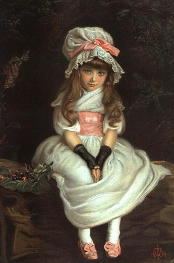 Cherry Ripe | Sir John Everett Millais | oil painting