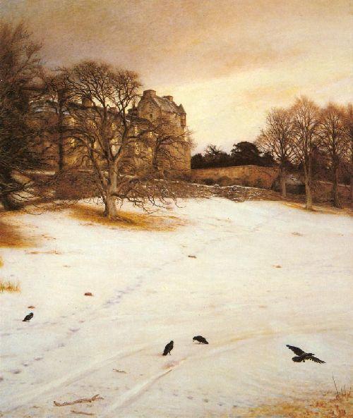 Christmas Eve   Sir John Everett Millais   oil painting
