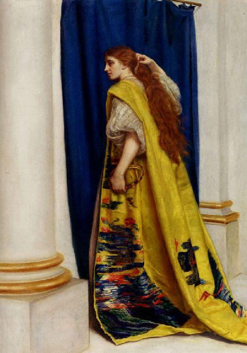 Esther | Sir John Everett Millais | oil painting