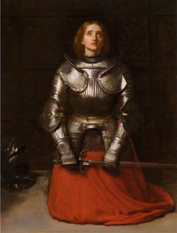 Joan of Arc   Sir John Everett Millais   oil painting