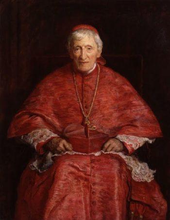 John Henry Cardinal Newman   Sir John Everett Millais   oil painting