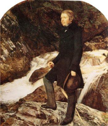John Ruskin   Sir John Everett Millais   oil painting