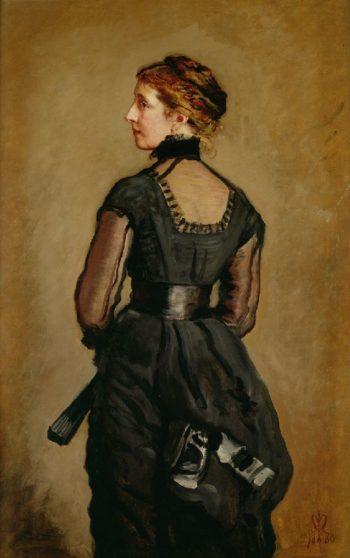 Kate Perugini   Sir John Everett Millais   oil painting