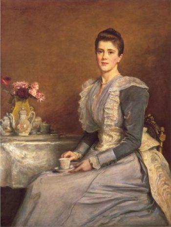 Mary Chamberlain   Sir John Everett Millais   oil painting