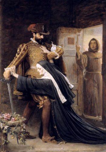 Mercy St Bartholomews Day 1572   Sir John Everett Millais   oil painting