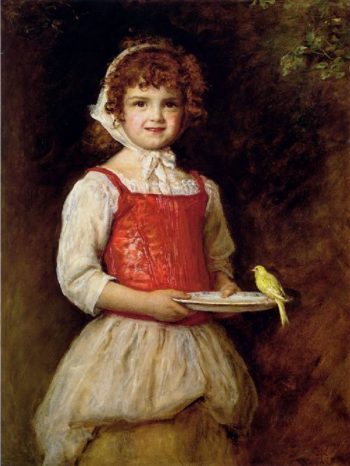 Merry   Sir John Everett Millais   oil painting