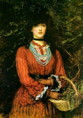 Miss Eveleen Tennant   Sir John Everett Millais   oil painting