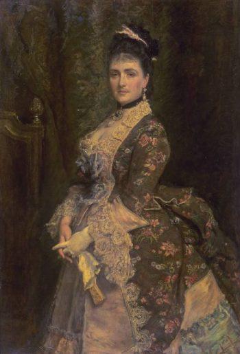 Mrs Bischoffsheim   Sir John Everett Millais   oil painting