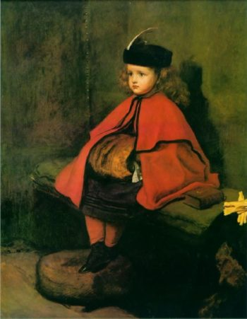 My First Sermon | Sir John Everett Millais | oil painting