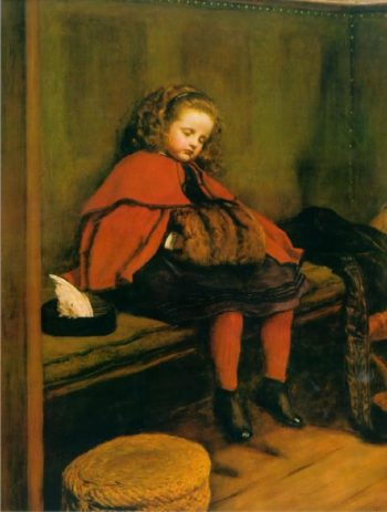 My Second Sermon | Sir John Everett Millais | oil painting