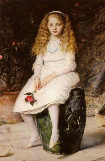 Nina Lehmann   Sir John Everett Millais   oil painting