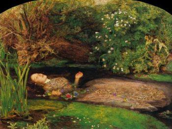 Ophelia   Sir John Everett Millais   oil painting