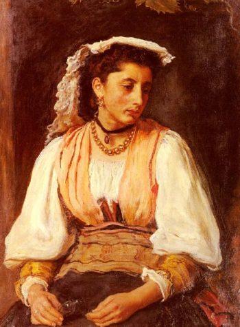 Pippa   Sir John Everett Millais   oil painting
