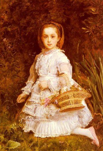 Portrait Of Gracia Lees   Sir John Everett Millais   oil painting