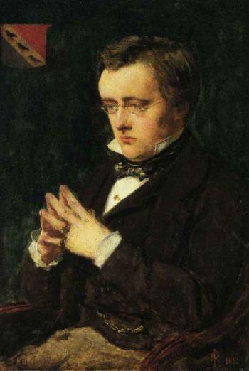 Portrait of Wilkie Collins   Sir John Everett Millais   oil painting